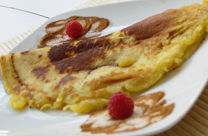 massa crepes doces