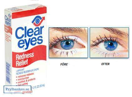 Clear Eyes 15ml och 30ml ( cleareyes ) Fri Frakt