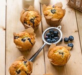 avoca blueberry muffins