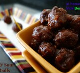 mexican meatballs appetizer in the crock pot