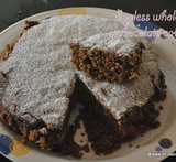 eggless cake with wheat flour