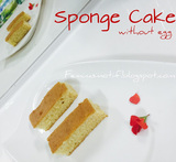 sponge cake without eggs
