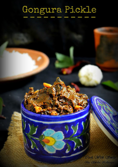 andhra gongura pickle recipe
