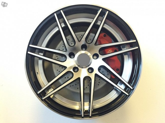 "19"" WZ RACE - BLACK POLISH 5x120 - 8,5/9,5x19"