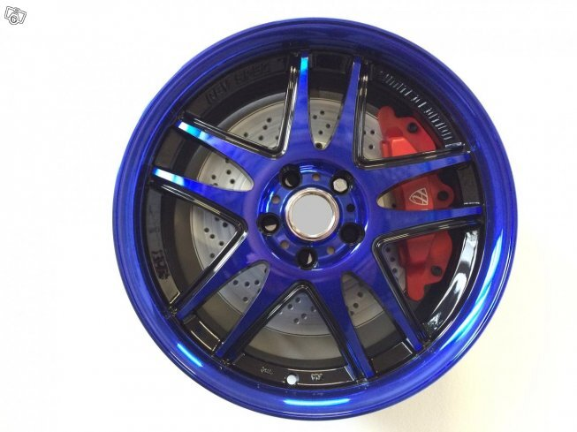 "17"" WZ BLUE - BLACK BLUE - 5x108 ET42"