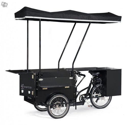 Cargobike Box Electric lastcykel med lock