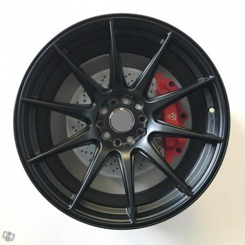"19"" WZ DRIFT MATT BLACK 5x114,3/120 8,5/10x19"