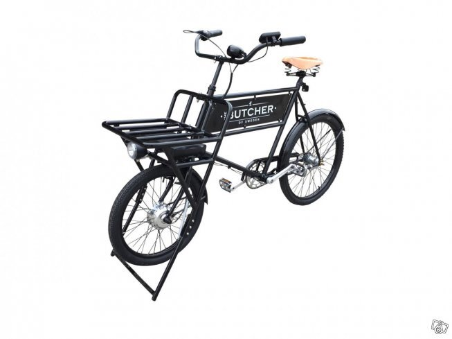 The Butcher classic delivery bike med el