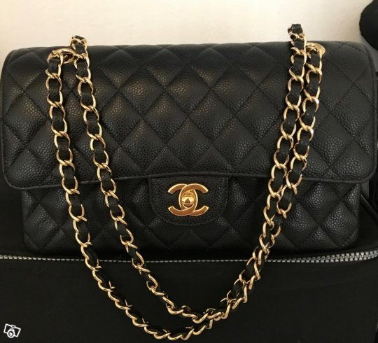 Chanel Klassisk Caviar Medium g-h
