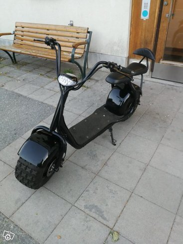 Elscooter fatglider citycoco