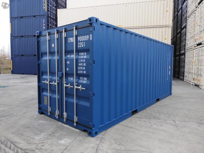 Nya & beg 20ft container inom stor-Stockholm