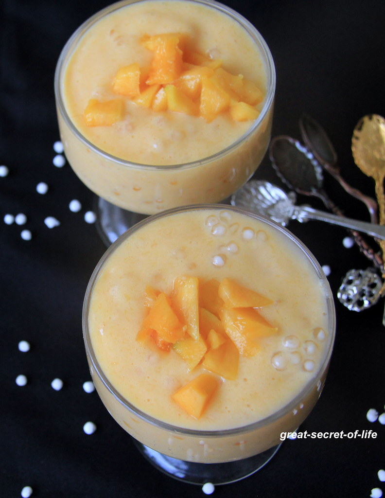 using mango puree