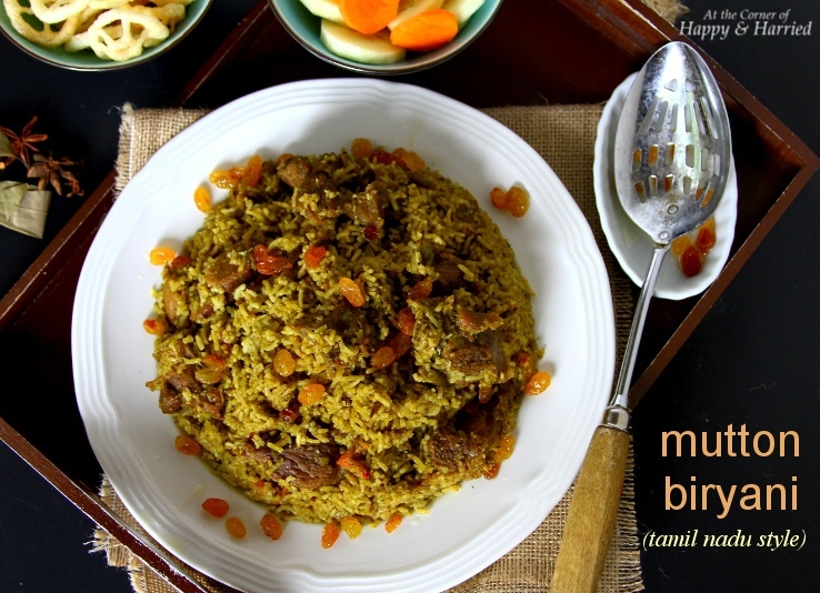 how to make dum mutton biryani in tamil