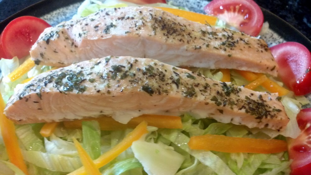 whole poached salmon mary berry