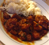 slimming world chicken and spinach curry