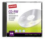 CD-RW STAPLES 700MB Jewel Case 5/FP