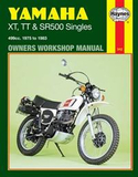 Yamaha Xt, Tt, and Sr 500 Singles Owners Workshop