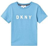 DKNY Blue DKNY Logo Tee 5 years