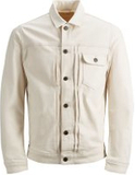 JACK & JONES Jack Jacket Jos 790 Denim Jacket Man White