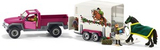 Schleich Pick Up Med Hästtransport