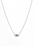 Lily and Rose Lily Signature Necklace Halsband Silver
