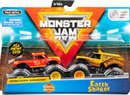 Monster Jam 2-pack Radical Rescue & Earth Shaker