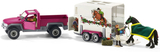 Schleich Pickup Bil med Hästtransport 42346
