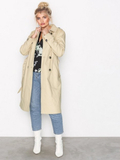 River Island Trench Coat Trenchcoats Stone