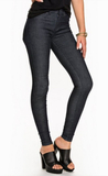 Dr Denim Plenty Denim Leggings Jeans Raw denim
