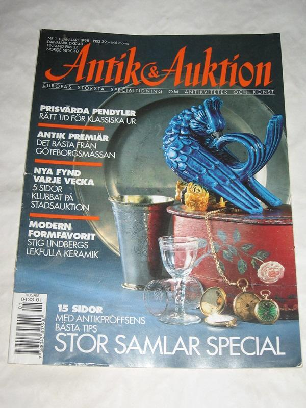 ANTIK & AUKTION NR 1 1998