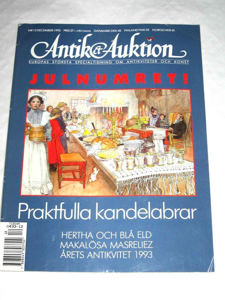 Antik & Auktion nr 12 1993