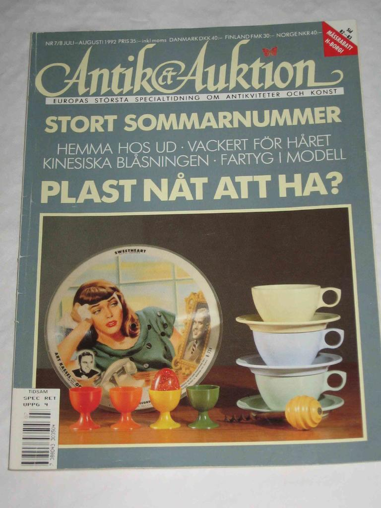 Antik & Auktion nr 7/8 1992