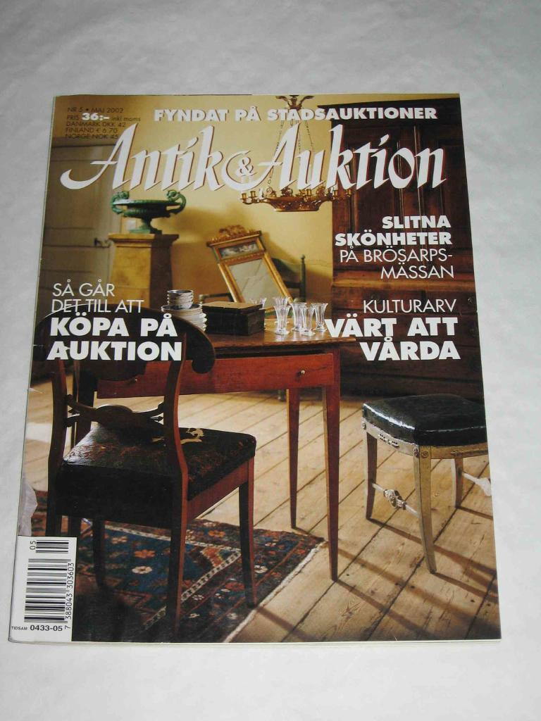 Antik & Auktion nr 5 2002