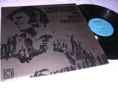 Vince Eager Pays Tribute To Elvis Presley (LP) UK 1972
