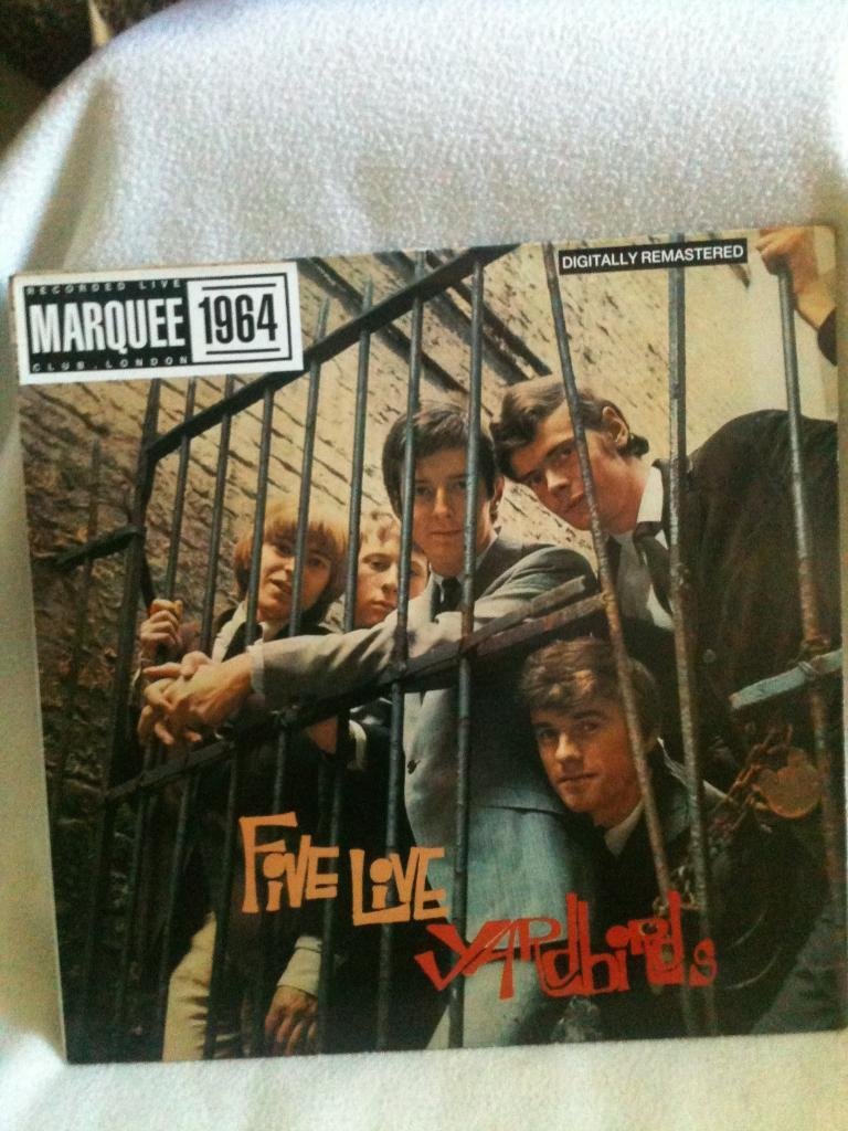 FIVE LIVE YARDBIRDS - recorded live at MARQUEE CLUB LONDON 1964