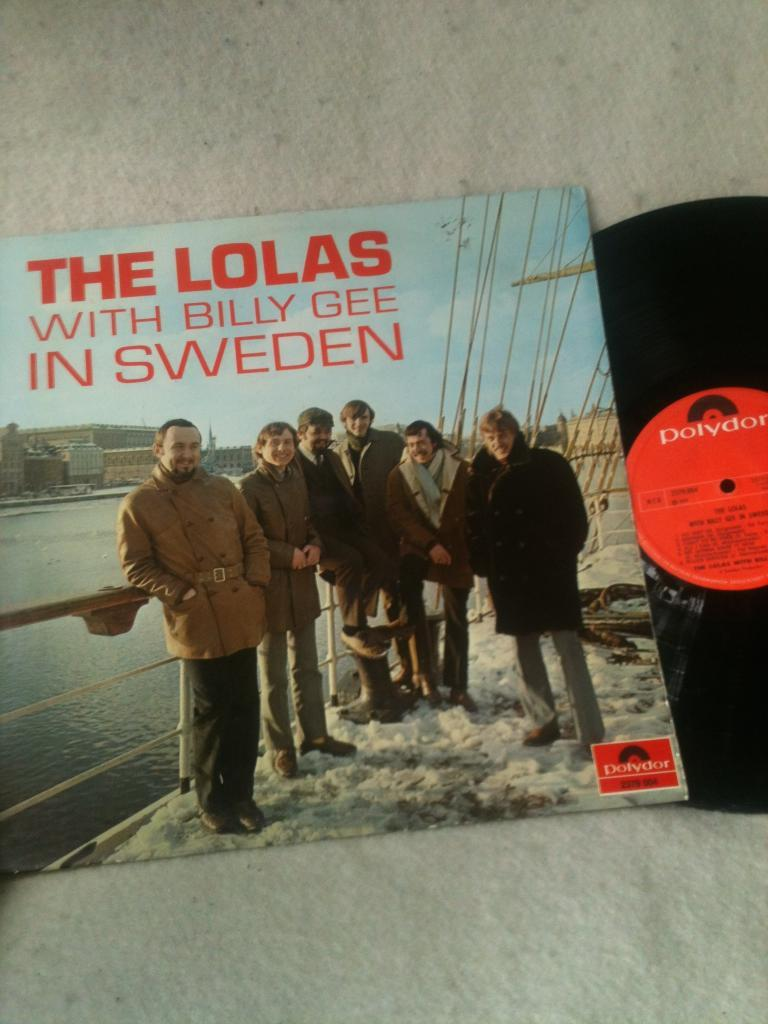 THE LOLAS WITH BILLY GEE IN SWEDEN