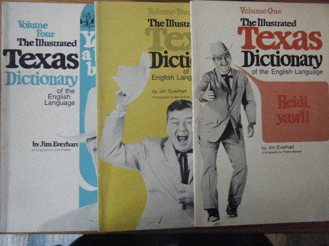 the illustrated Texas dictionary of the English Language. Volume One, Two and Four