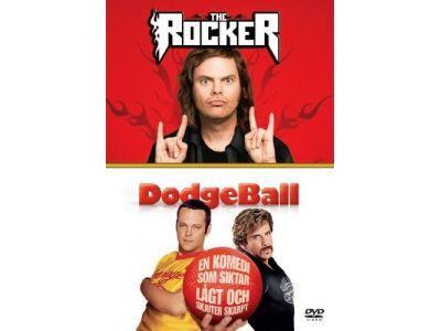The Rocker/DodgeBall (2 filmer på 2 DVD)