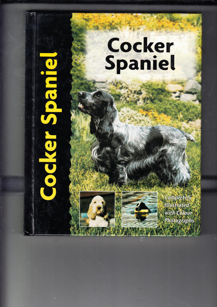 COCKER SPANIEL(ENGELSK TEXT)