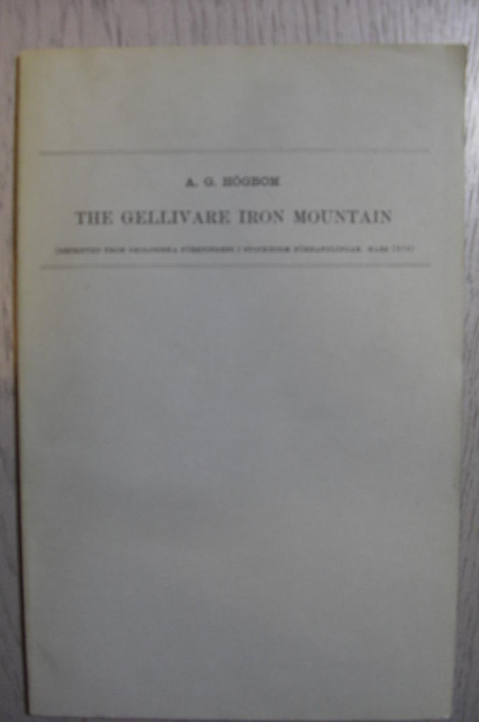 The Gellivare iron mountain.