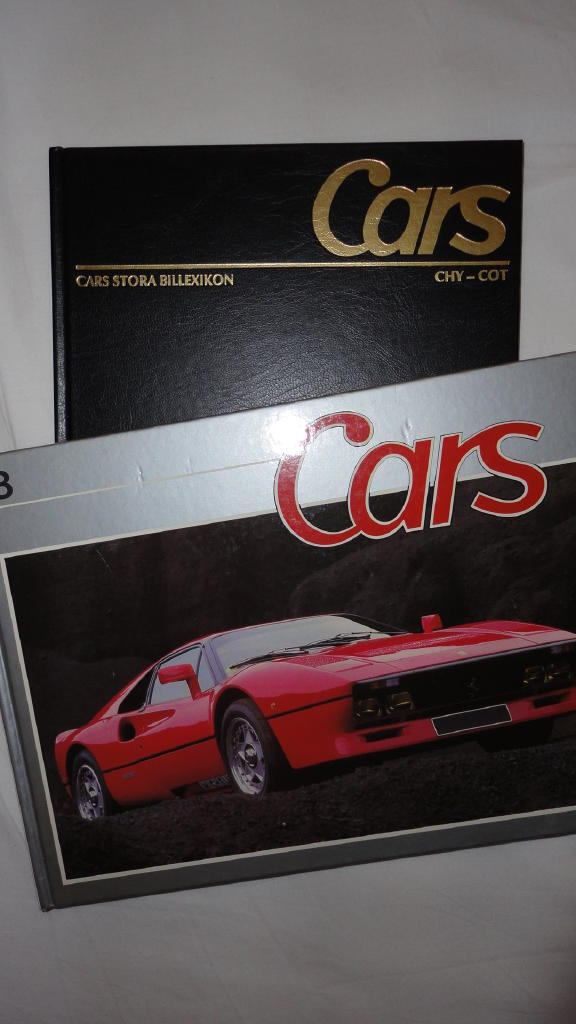 Cars Stora billexicon 8 & Cars Collection 8