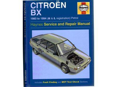 Citroen BX 1983 to 1994 - Petrol