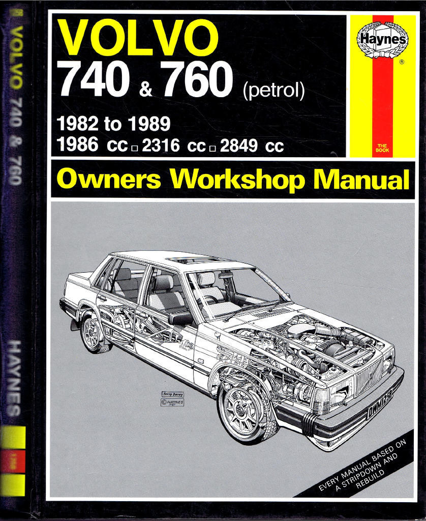 Volvo 740 & 760 (petrol) 1982 to 1989