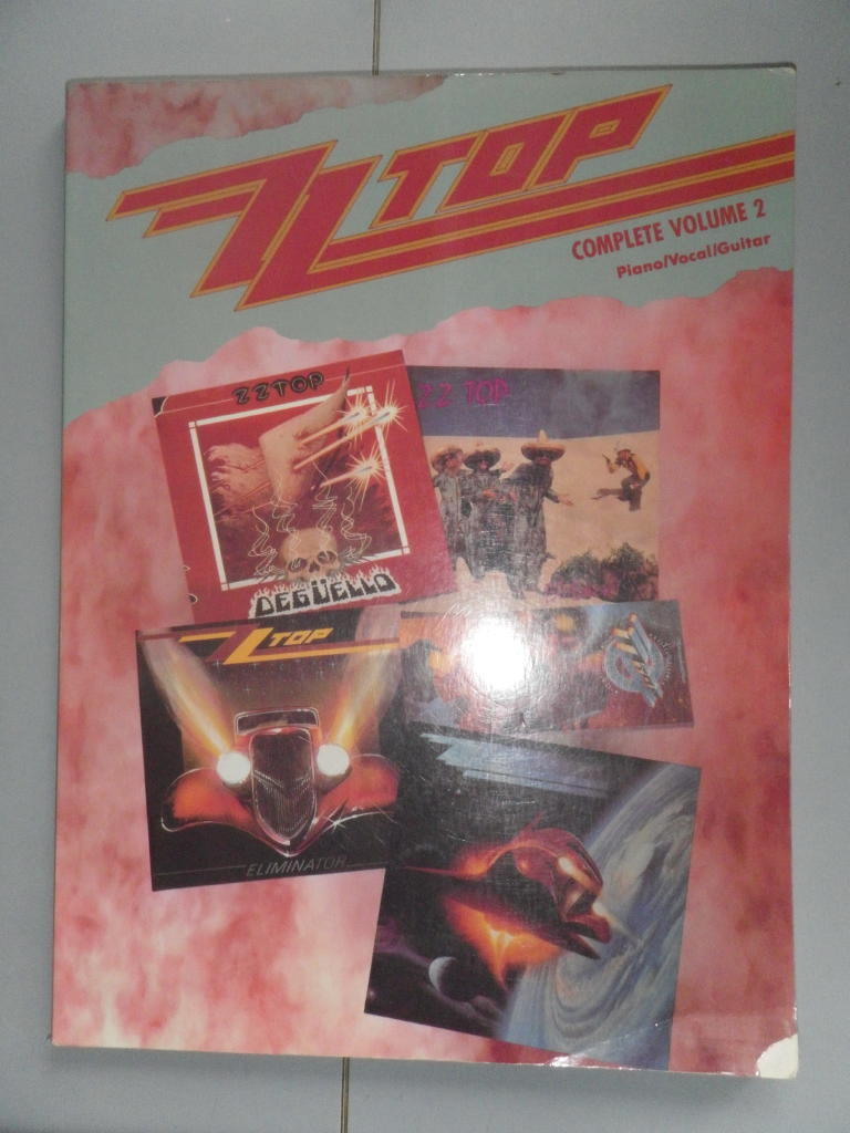 ZZ TOP COMPLETE VOLUME 2 PIANO/VOCAL/GUITAR