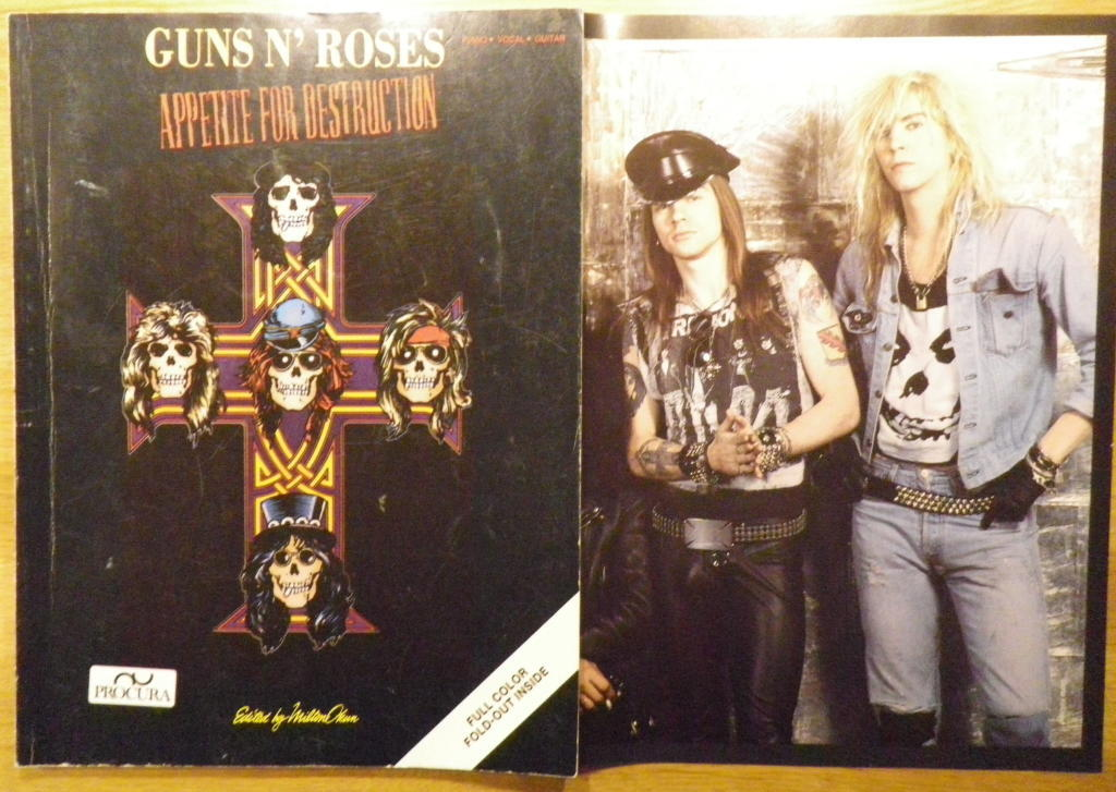 APPETITE FOR DESTRUCTION - PIANO * VOCAL * GUITAR