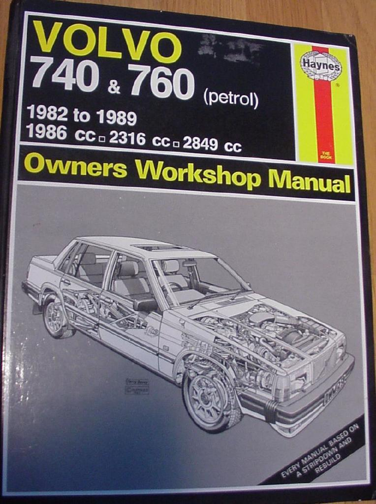 Volvo 740 & 760 1982-1986. Owners Workshop Manual