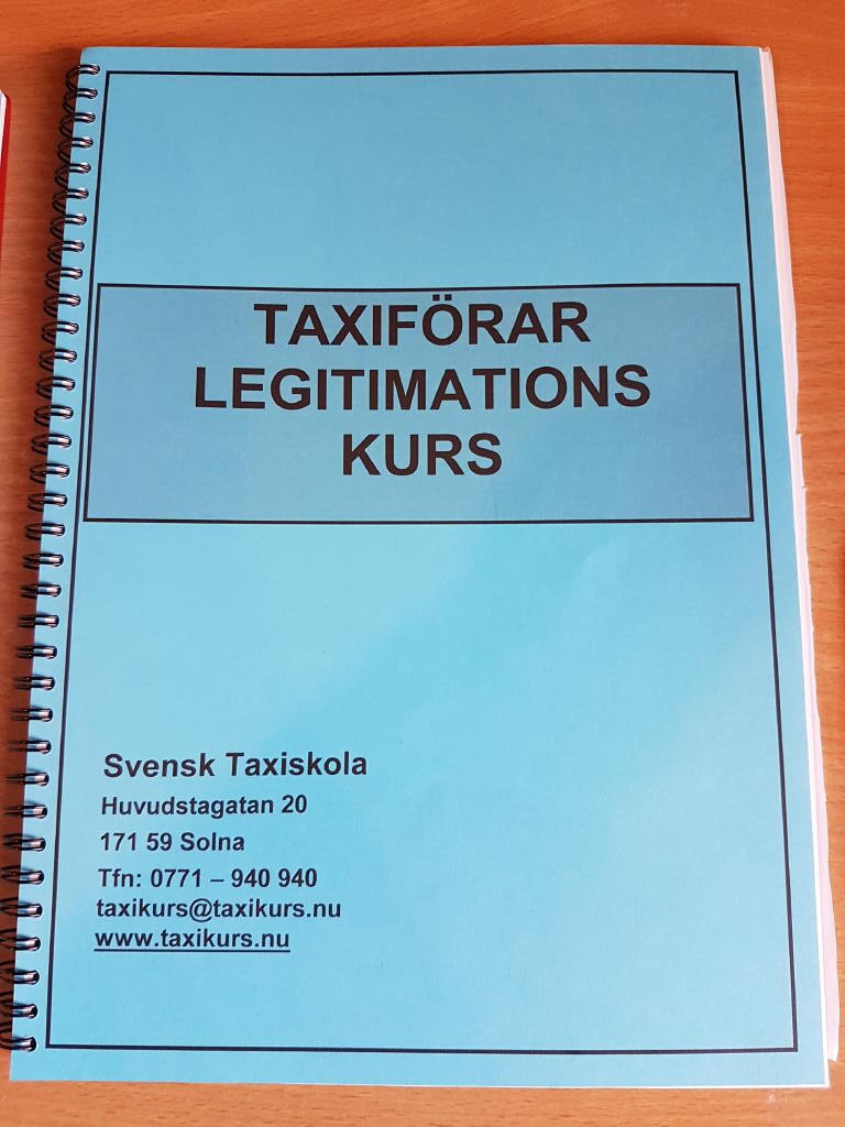 Taxiförarlegitimations kurs