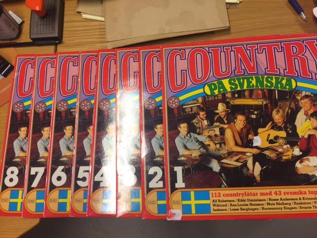 Country på svenska 1-8