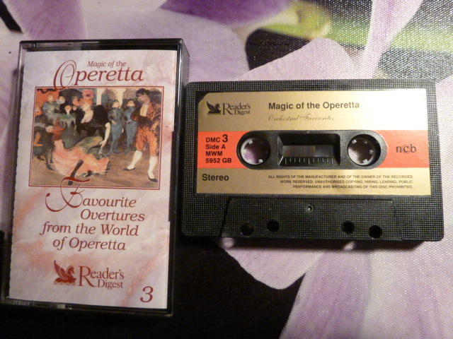 FAVOURITE OVERTURES FROM THE WORLD OF OPERETTA 3, MAGIC OF THE OPERETTA