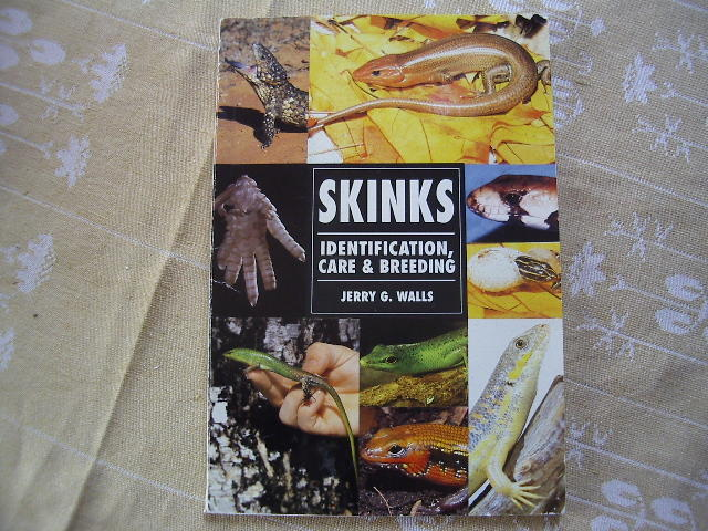 SKINKS Identification, care & breeding.